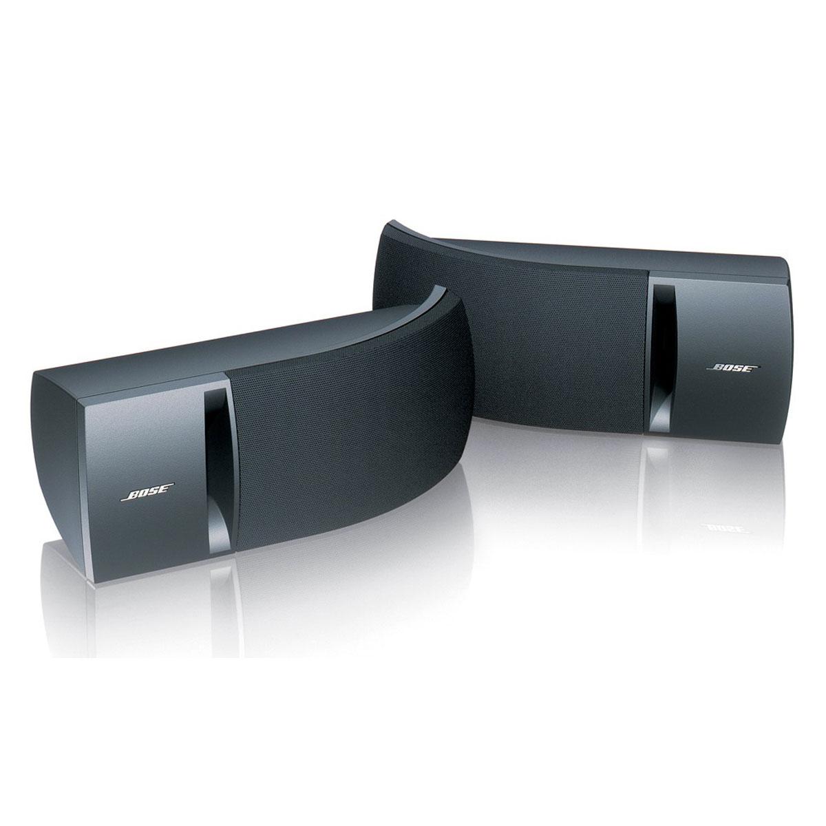 Enceintes Hifi Bose 161 Noir Enceinte compacte stéréo (par paire)