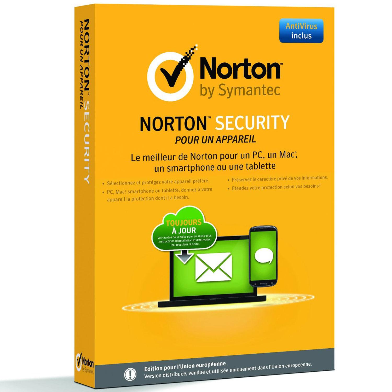 Logiciel antivirus Norton Security 2.0  Antivirus - Licence 1 an 1 poste Antivirus - Licence 1 an 1 poste (français, WINDOWS, Android, MAC, IOS)