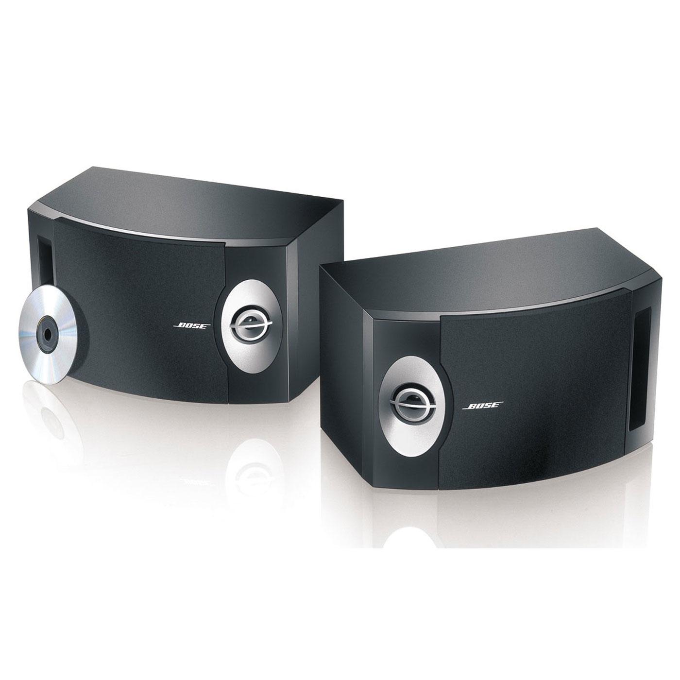 Enceintes Hifi Bose 301V Noir Enceinte compacte stéréo Direct/Reflecting (par paire)