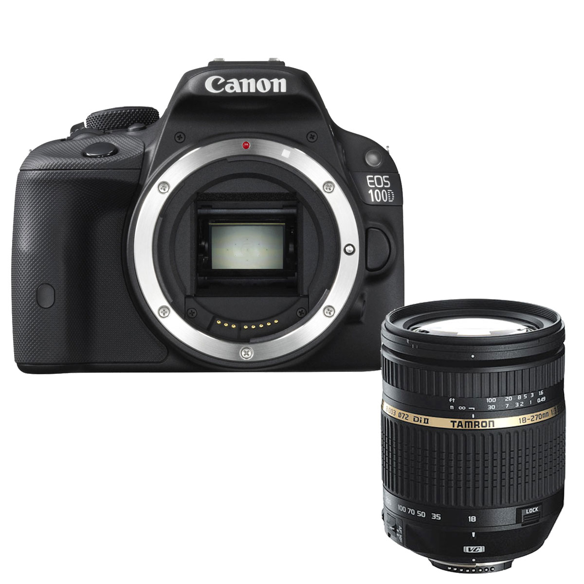 Canon eos 100d tamron af 18 270mm f 3 5 6 3 di ii vc for Ecran appareil photo canon