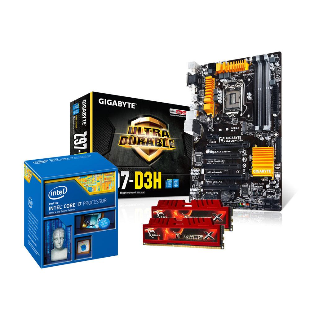 Kit Upgrade Pc Core I7 Gigabyte Ga Z97 D3h 8 Go Intel 4790 34 Box Socket 1150 Carte Mre Atx Express Cpu 4790k 40 Ghz Ram 2x 4