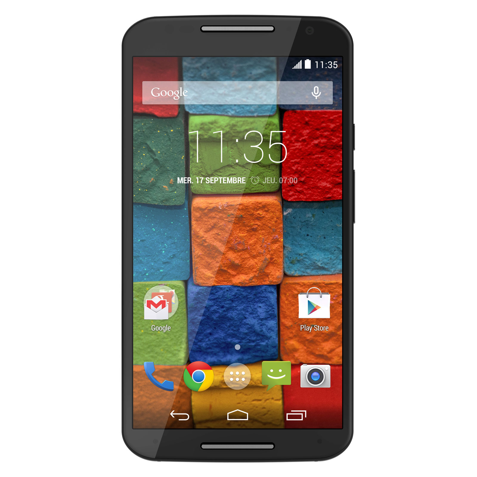 "Mobile & smartphone Motorola Moto X+1 16 Go Noir Smartphone 4G-LTE avec écran tactile Full HD AMOLED 5.2"" sous Android 4.4"