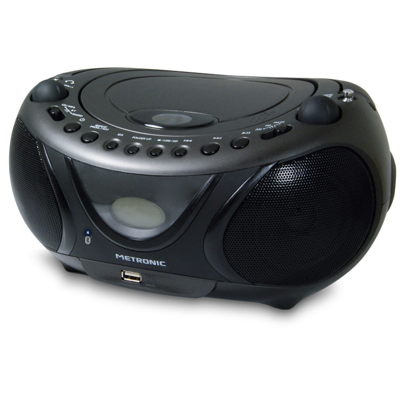 metronic radio cd mp3 bluetooth radio radio r veil. Black Bedroom Furniture Sets. Home Design Ideas