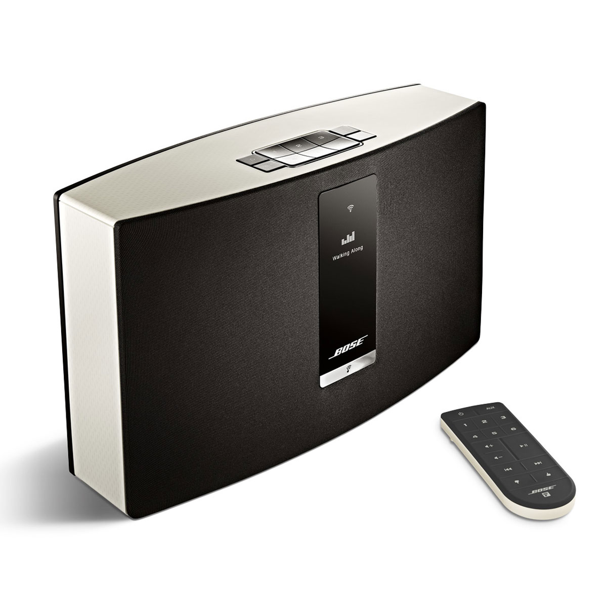 bose soundtouch 20 s rie ii blanc dock enceinte bluetooth bose sur. Black Bedroom Furniture Sets. Home Design Ideas