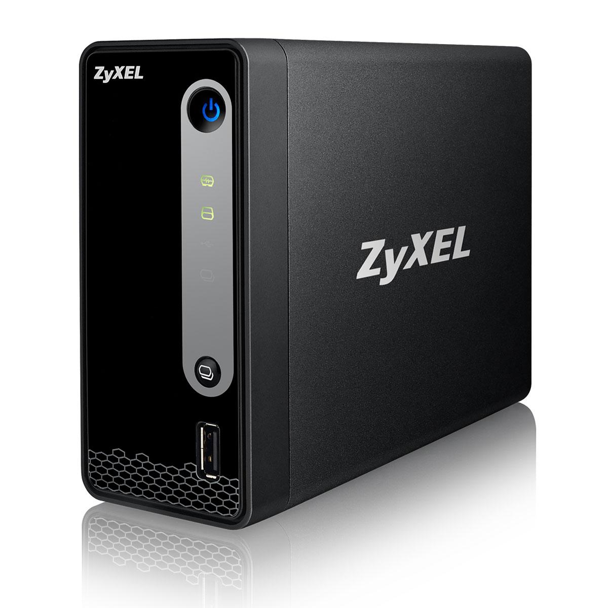 Serveur NAS ZyXEL NSA310S Serveur de stockage 1 baies (sans disque dur)