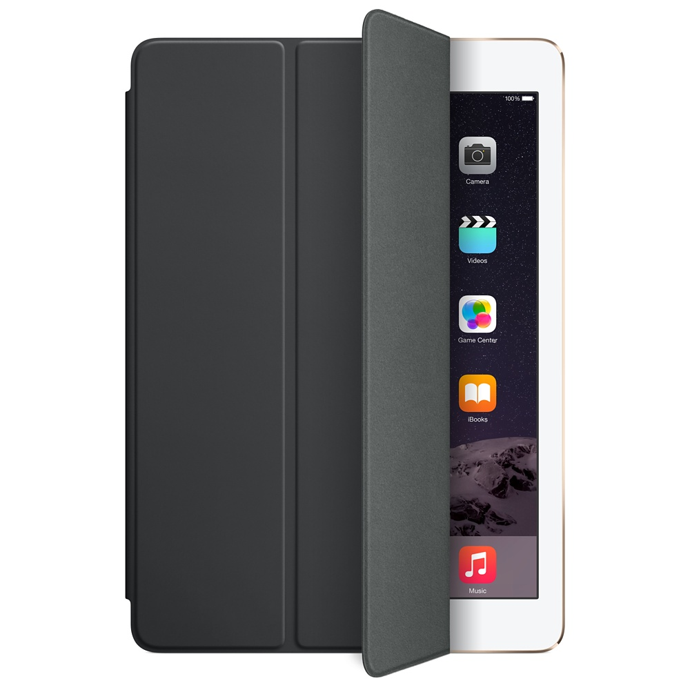 Accessoires Tablette Apple iPad Air Smart Cover Noir Protection écran pour iPad Air et iPad Air 2