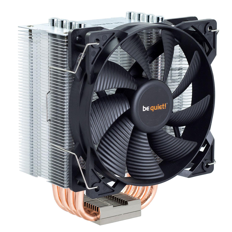 Ventilateur processeur be quiet! Pure Rock Ventilateur de processeur (pour Socket AMD AM2/AM2+/AM3/AM3+/AM4/FM1/FM2/754/939/940 et INTEL LGA 775/1150/1151/1155/1156/1366/2011) - Garantie constructeur 3 ans