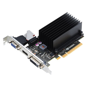 Carte graphique NVIDIA GeForce GT 720 1 GB Passive 1 Go HDMI/DVI - PCI Express (NVIDIA GeForce avec CUDA GT 720)