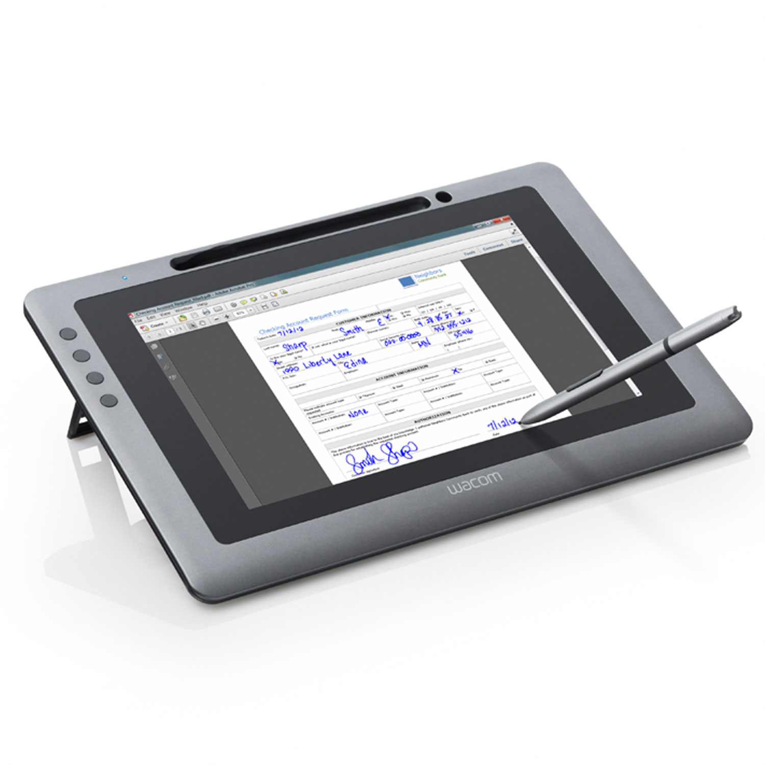 Wacom Signature Display DTU-1031 + Sign Pro PDF