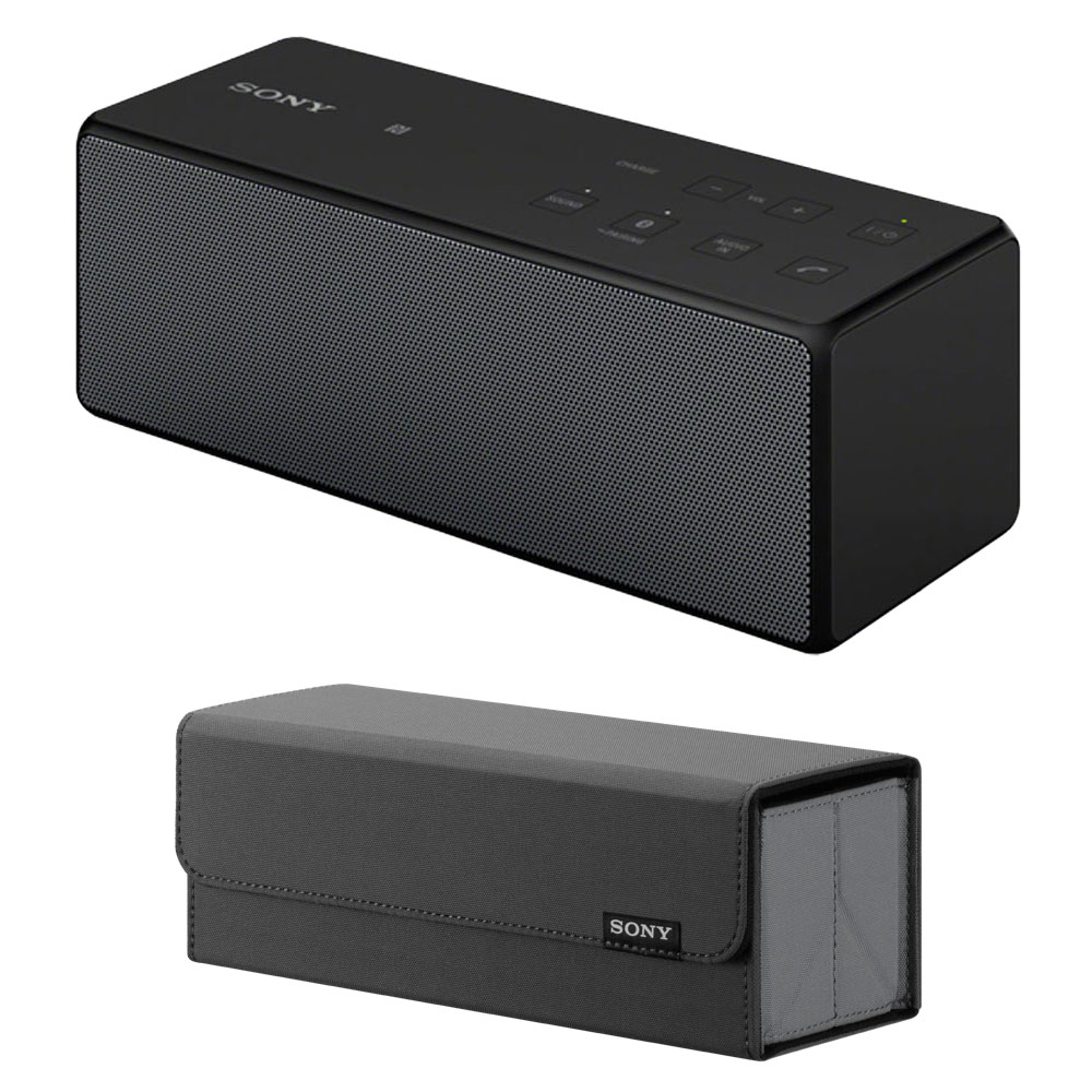 sony srs x3 noir housse dock enceinte bluetooth sony sur. Black Bedroom Furniture Sets. Home Design Ideas