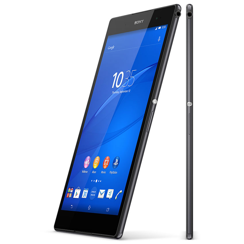 sony xperia z3 tablet compact 16 go noir tablette tactile sony sur. Black Bedroom Furniture Sets. Home Design Ideas