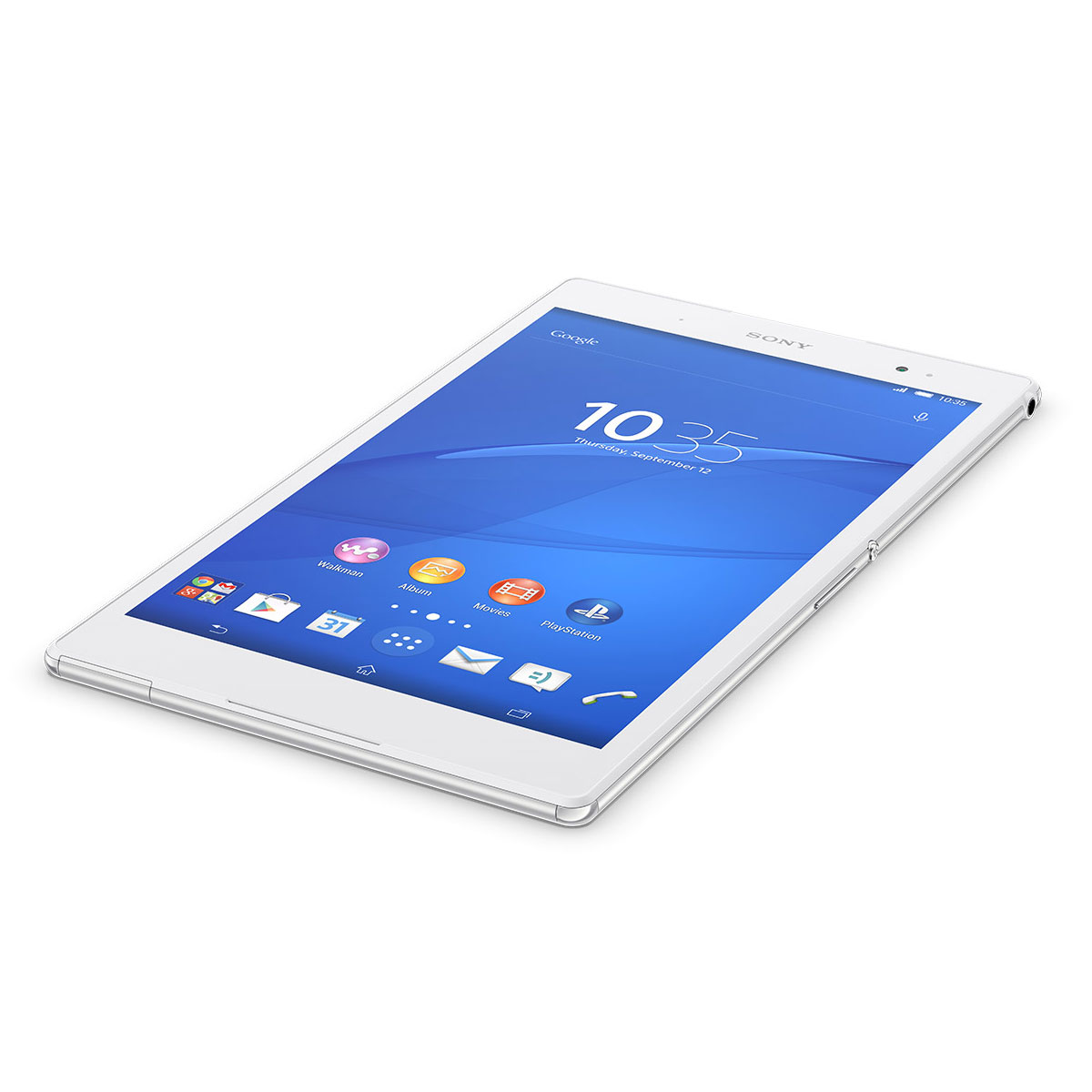 sony xperia z3 tablet compact 16 go blanc tablette. Black Bedroom Furniture Sets. Home Design Ideas