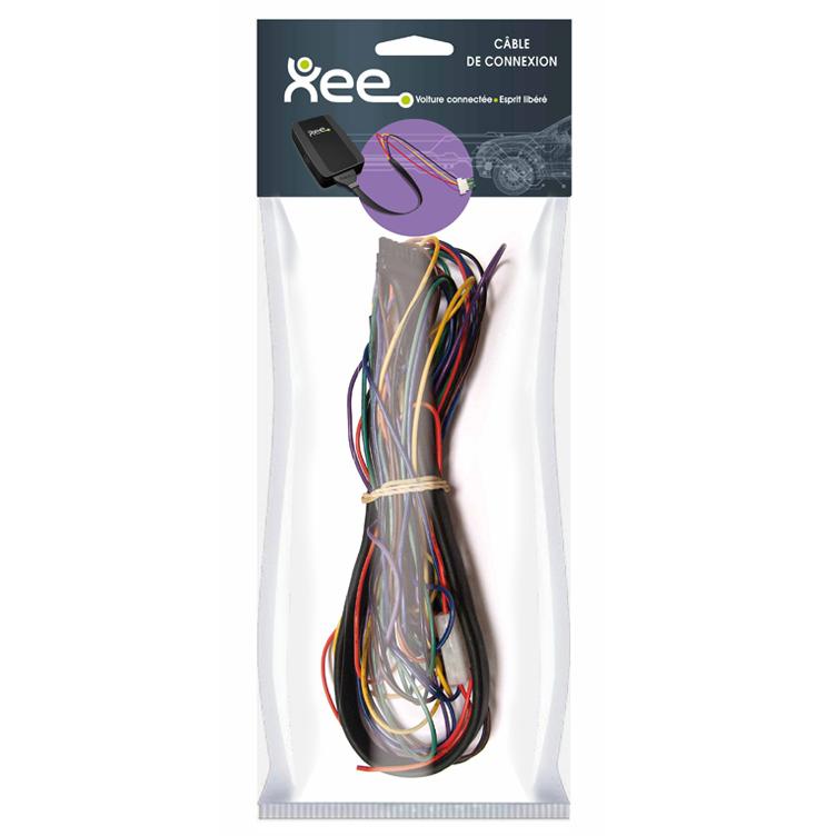 Accessoires GPS Xee Câble violet pour boîtier Xee Câble pour voitures Audi / BMX / Mercedes / Mini / Opel / Porsche / Seat / Skoda / Volkswagen