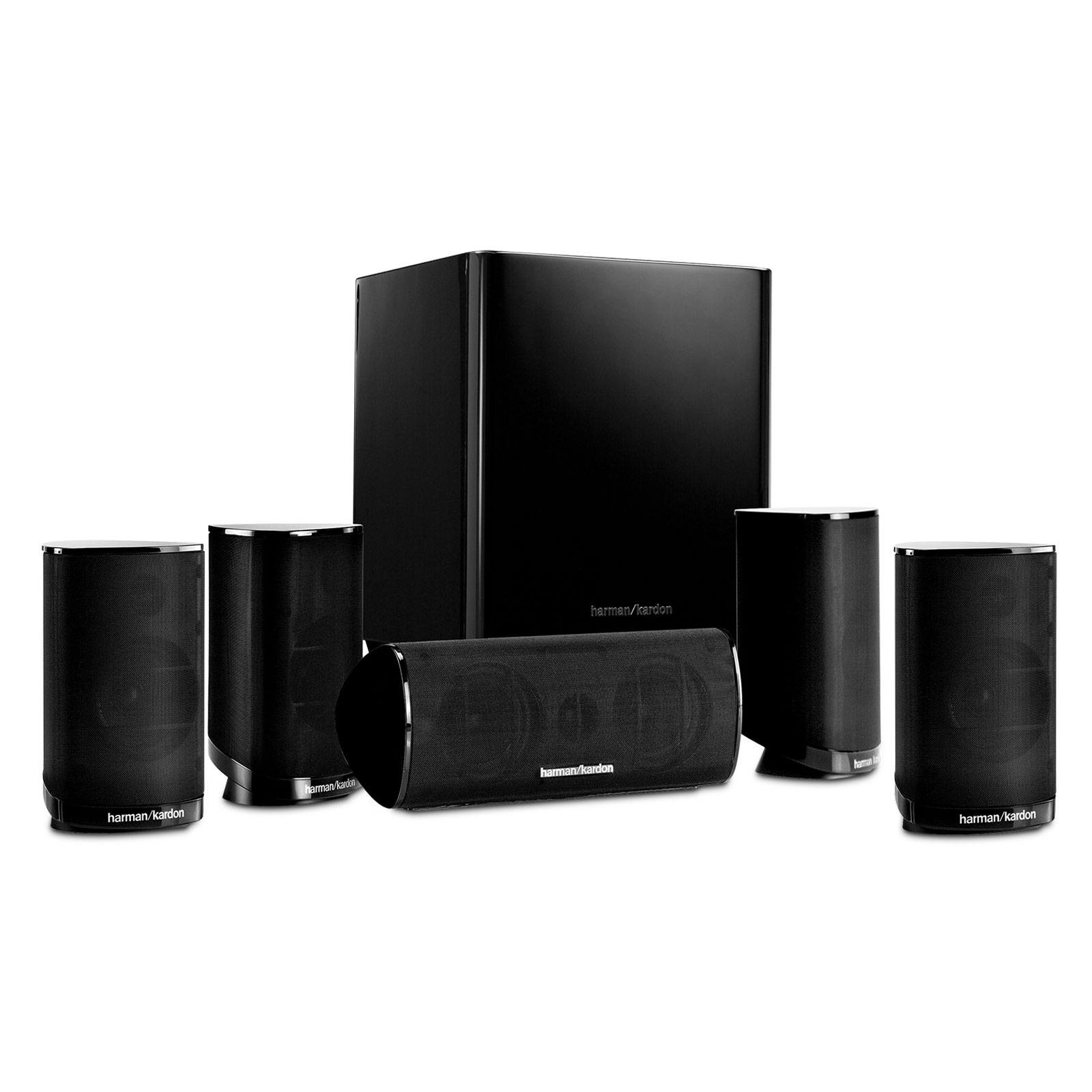 harman kardon hkts 9 noir enceintes hifi harman kardon. Black Bedroom Furniture Sets. Home Design Ideas