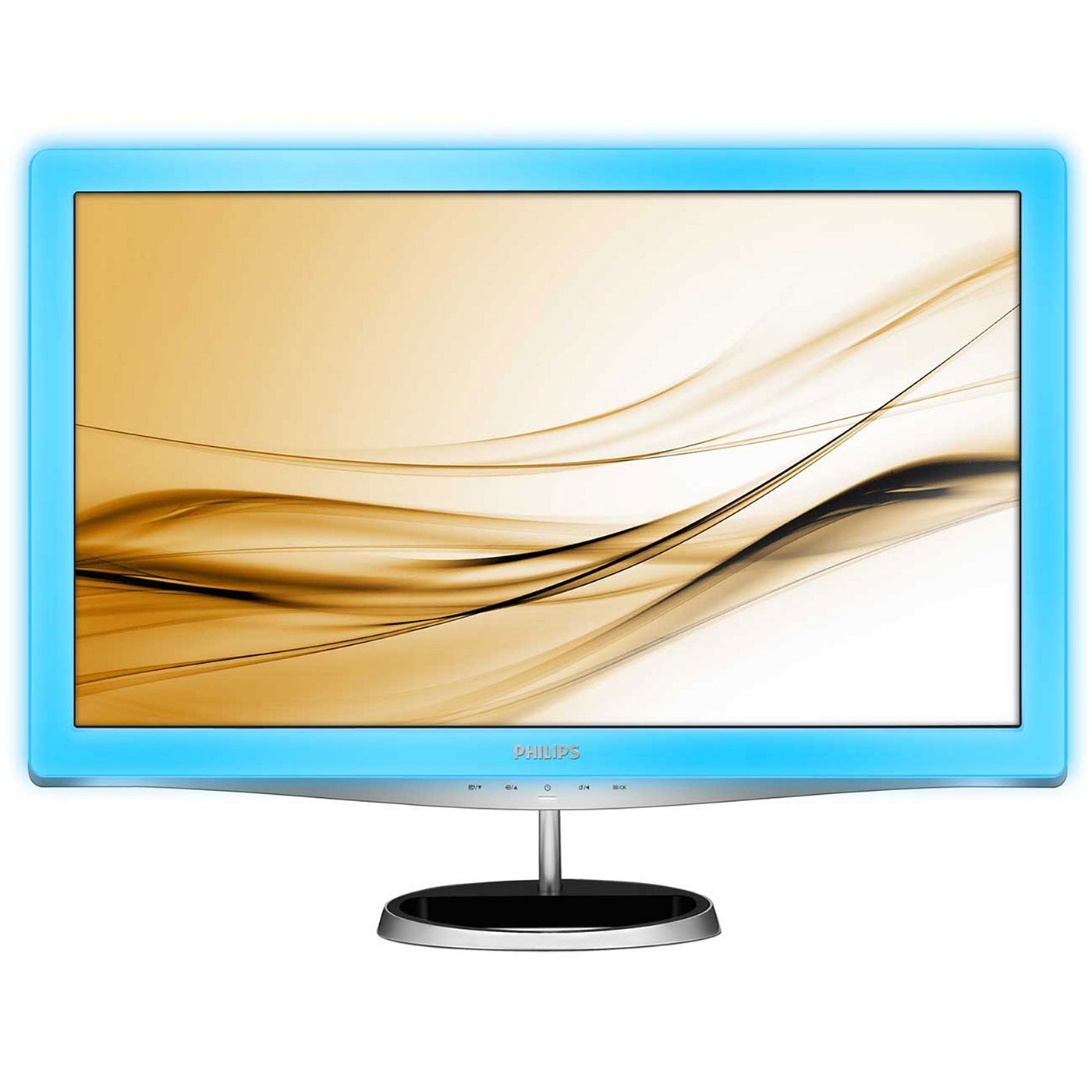 "Ecran PC Philips 23.6"" LED - 248X3LFHSB 1920 x 1080 pixels - 2 ms (gris à gris) - Format 16/9 - HDMI - Lightframe"