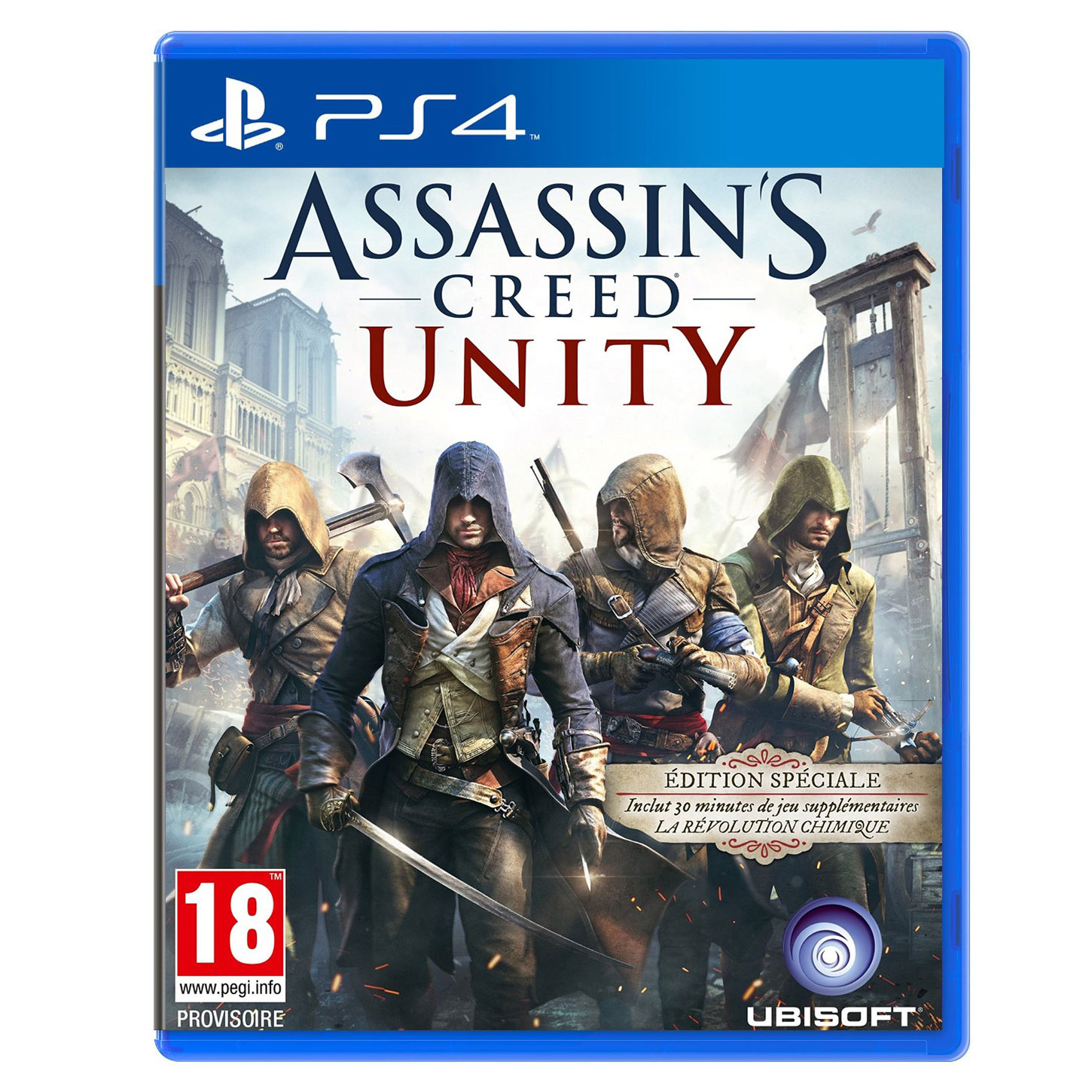 assassin 39 s creed unity edition sp ciale ps4 jeux ps4 ubisoft sur. Black Bedroom Furniture Sets. Home Design Ideas