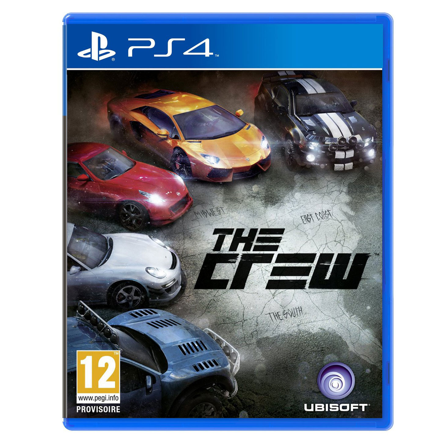 the crew ps4 jeux ps4 ubisoft sur. Black Bedroom Furniture Sets. Home Design Ideas