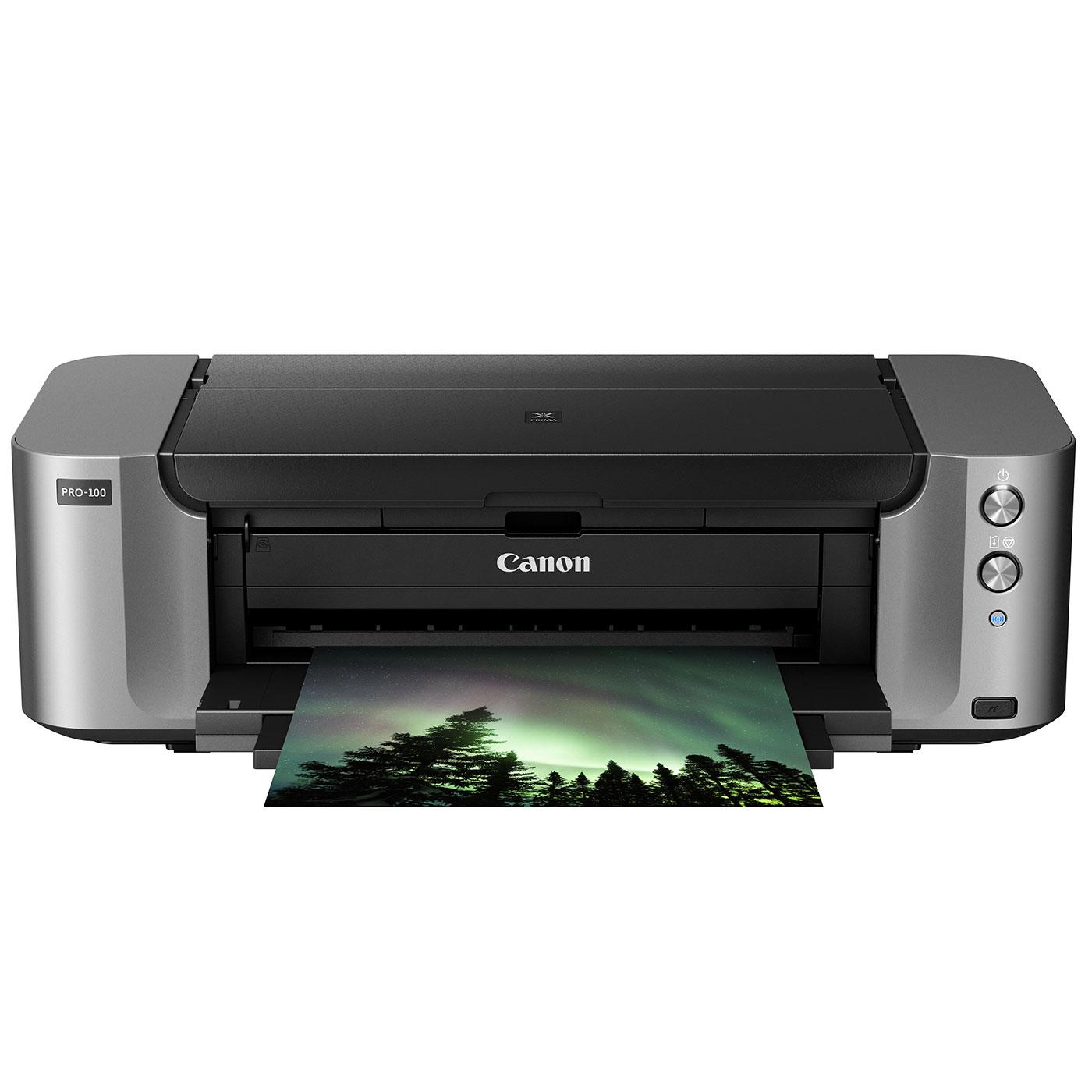 canon pixma pro 100 imprimante jet d 39 encre canon sur. Black Bedroom Furniture Sets. Home Design Ideas