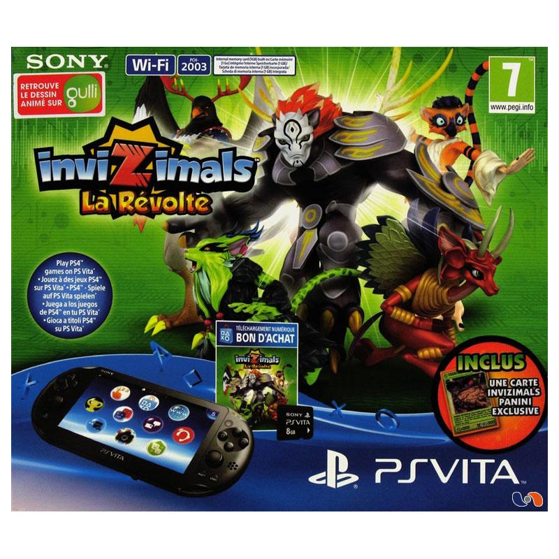 Sony ps vita invizimals la r volte sony - Ps vita test de la console ...