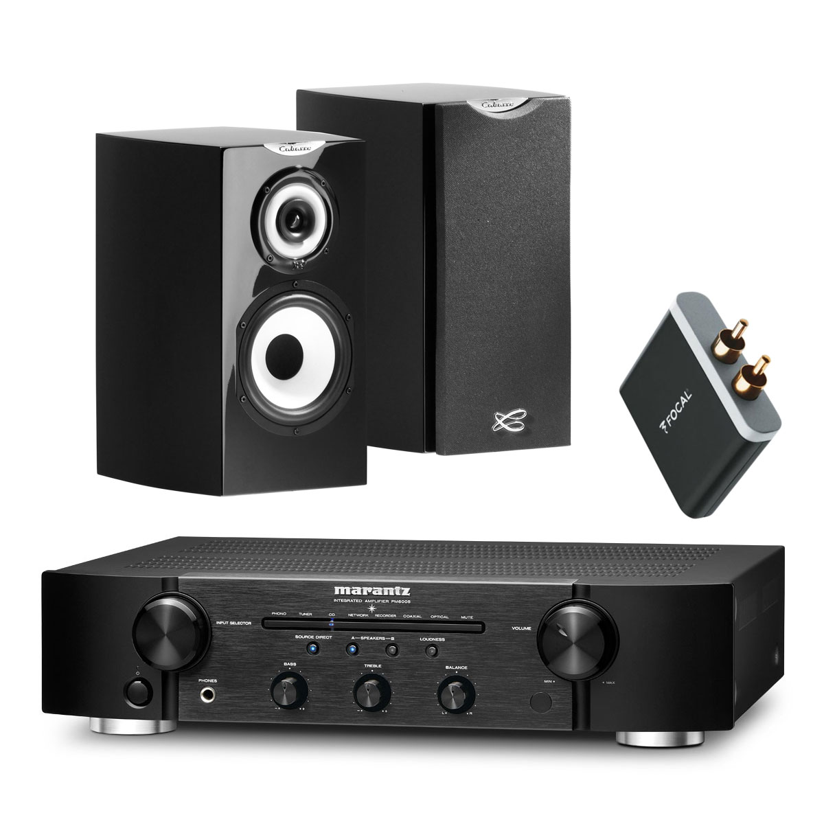 Marantz Pm6005 Cabasse Minorca Mc40 Focal Universal Wireless  # Meuble Tv Avec Enceinte Integre