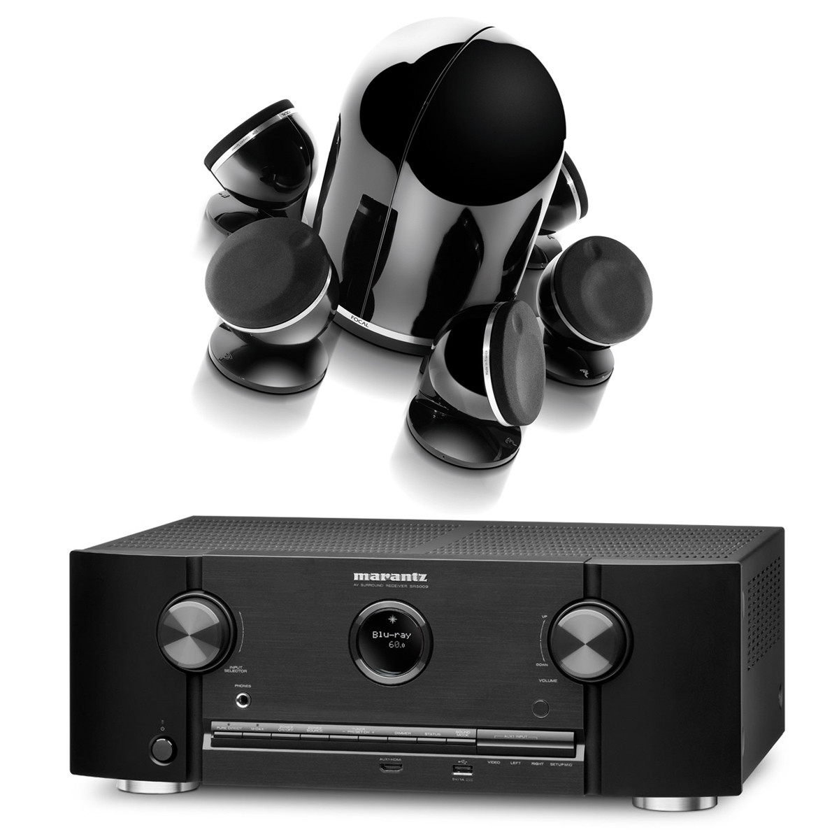 Marantz SR5009 Noir + Focal Dôme Pack 5.1