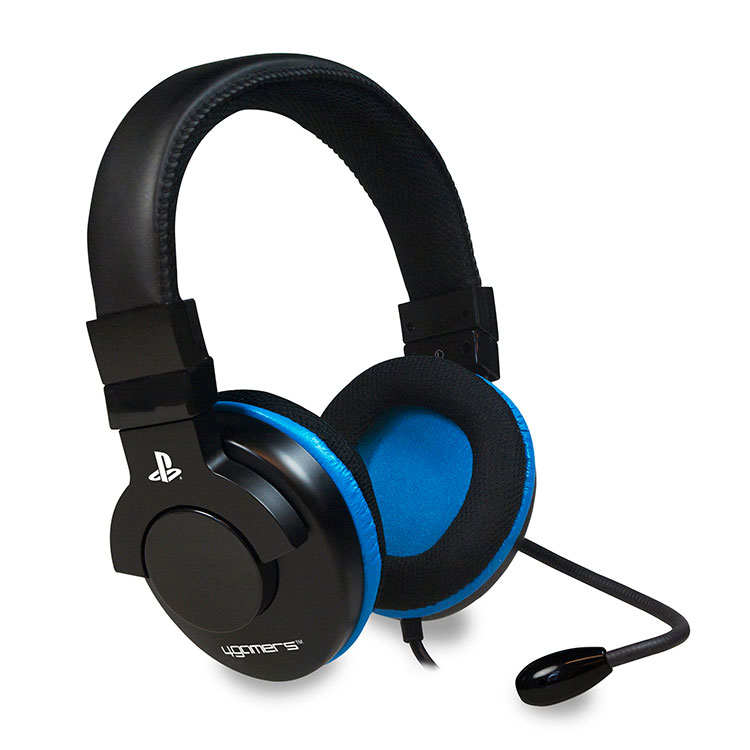 4gamers stereo gaming headset accessoires ps3 4gamers sur. Black Bedroom Furniture Sets. Home Design Ideas