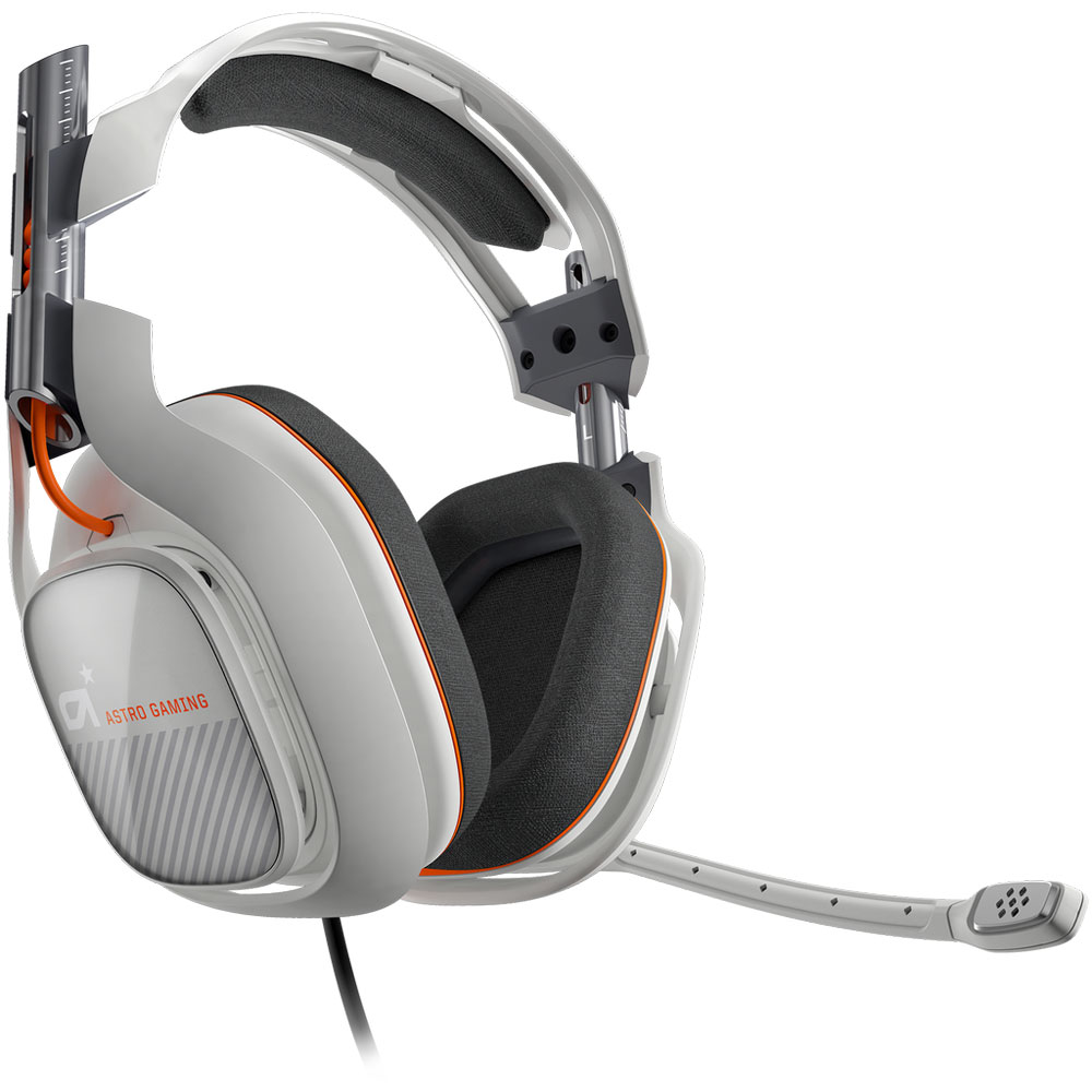 astro a40 gris clair pc micro casque gamer astro sur. Black Bedroom Furniture Sets. Home Design Ideas