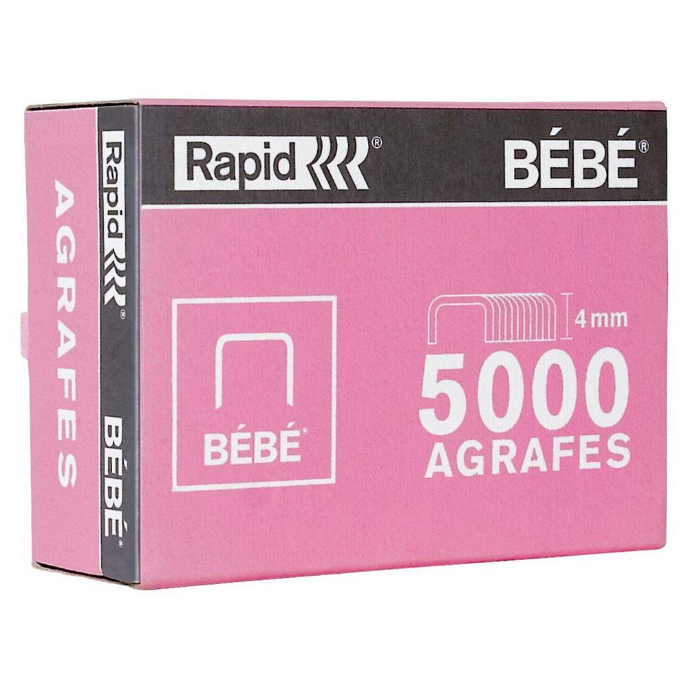 rapid agrafes b b boite de 5000 agrafes cuivr es agrafeuse perforateur rapid sur. Black Bedroom Furniture Sets. Home Design Ideas