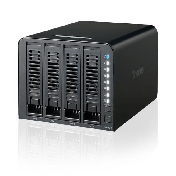 Serveur NAS Thecus N4310 Boîtier externe NAS 4 baies (sans disque dur)