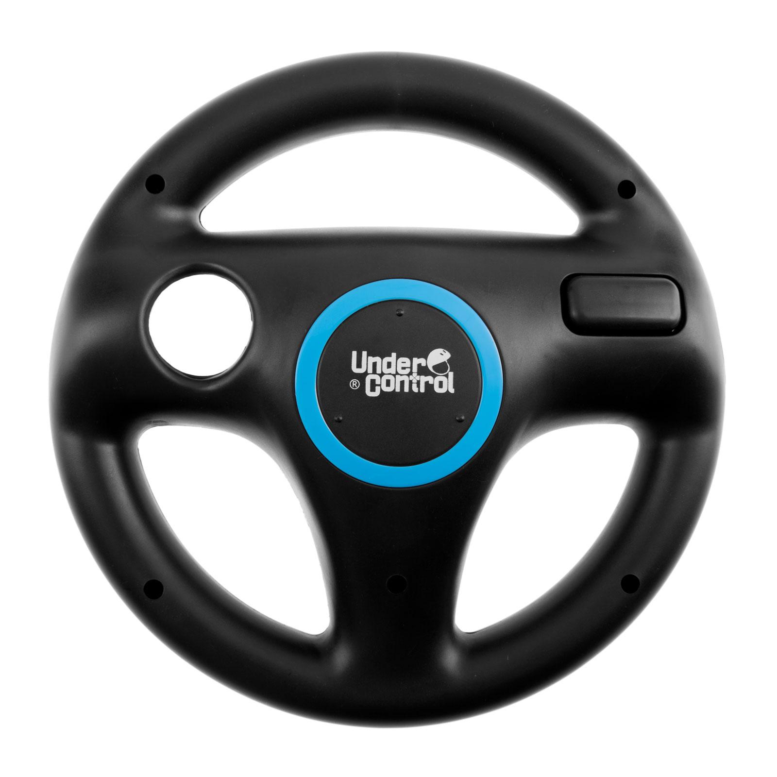 under control steering wheel noir accessoires wii u under control sur. Black Bedroom Furniture Sets. Home Design Ideas