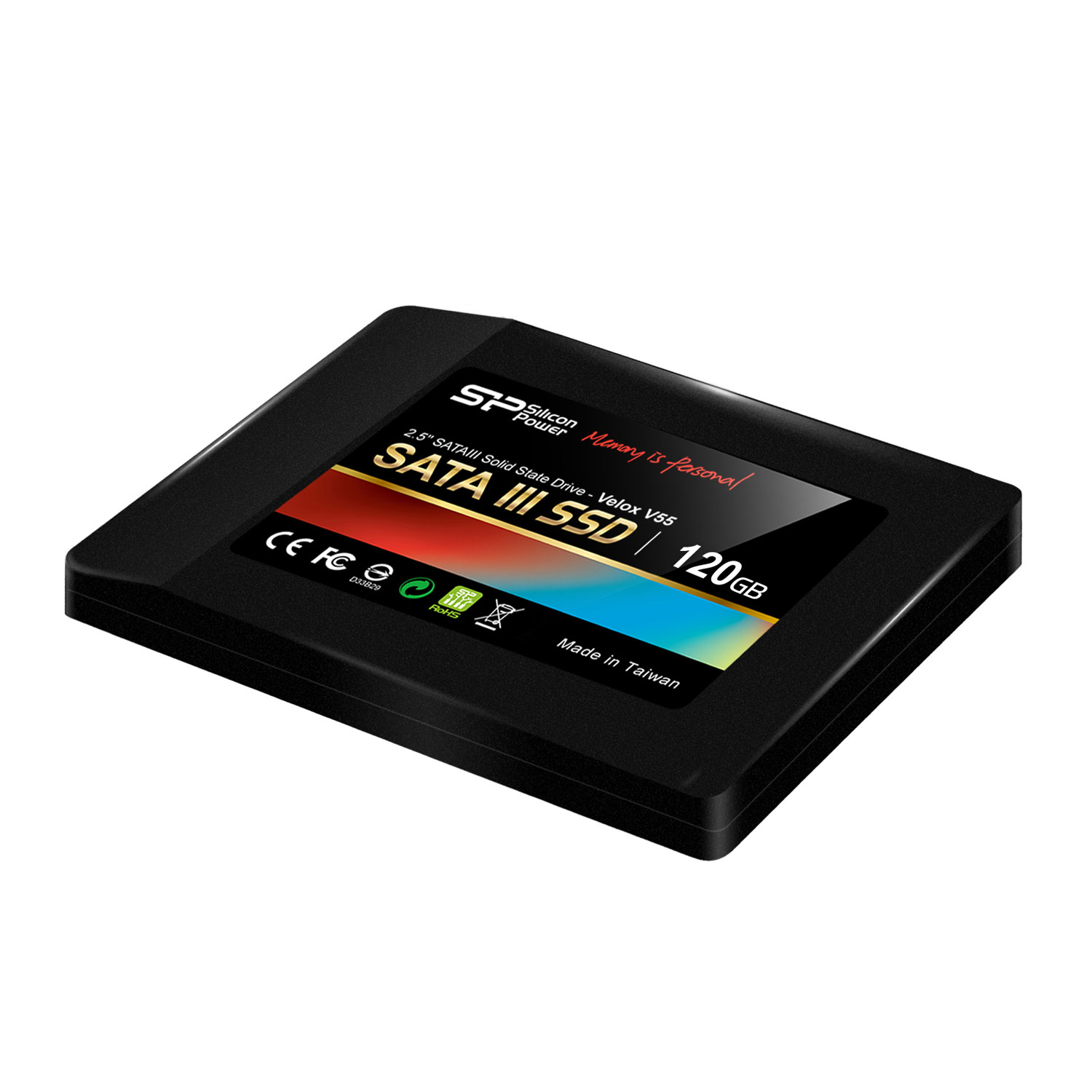 silicon power ssd velox v55 120 go 2 5 disque ssd silicon power sur. Black Bedroom Furniture Sets. Home Design Ideas