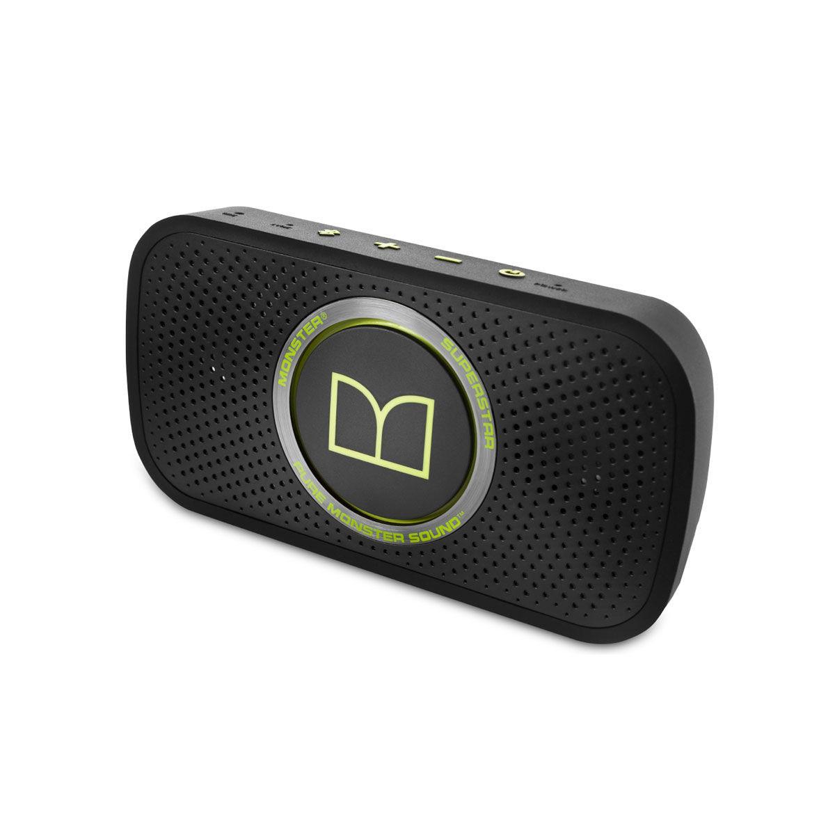 Dock & Enceinte Bluetooth Monster SuperStar Vert Enceinte sans fil bluetooth