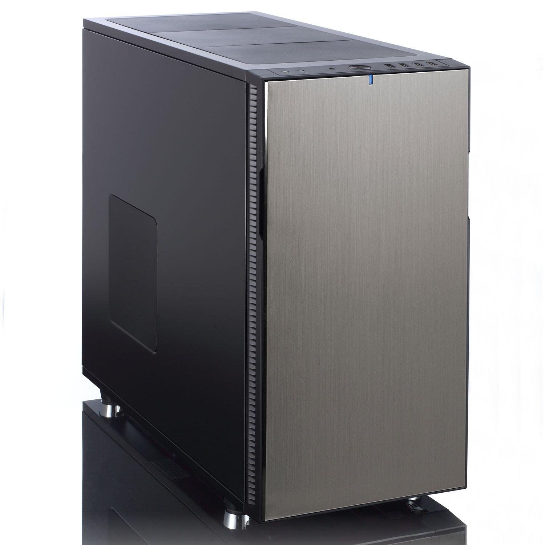 Boîtier PC Fractal Design Define R5 Titanium Boîtier Moyen Tour Titane