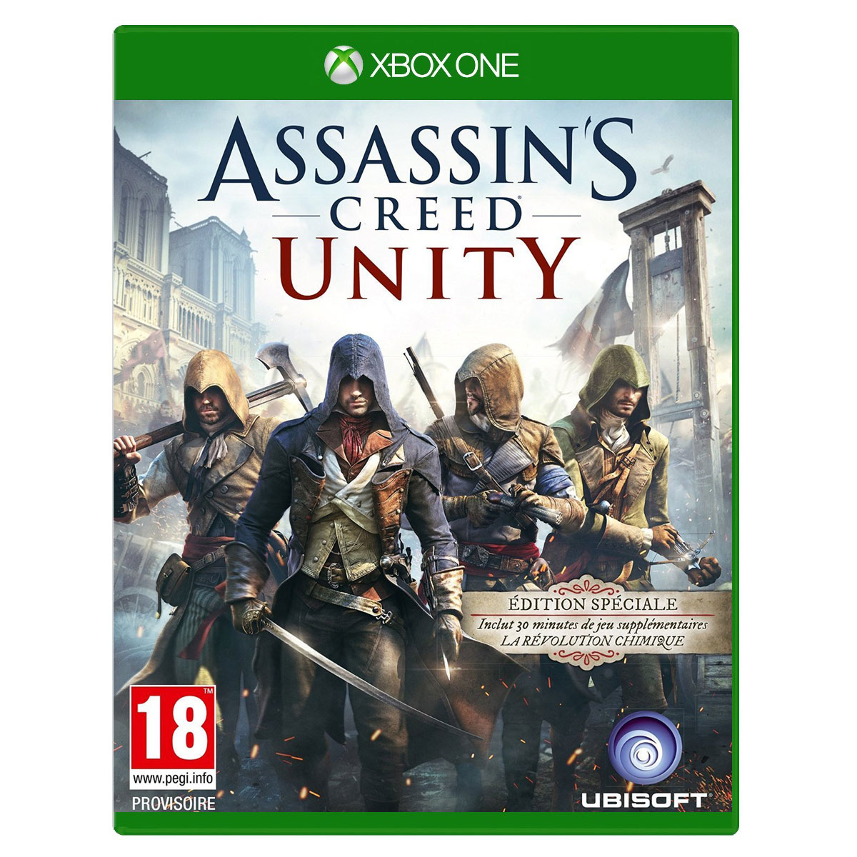 Assassin s creed unity edition spéciale xbox one