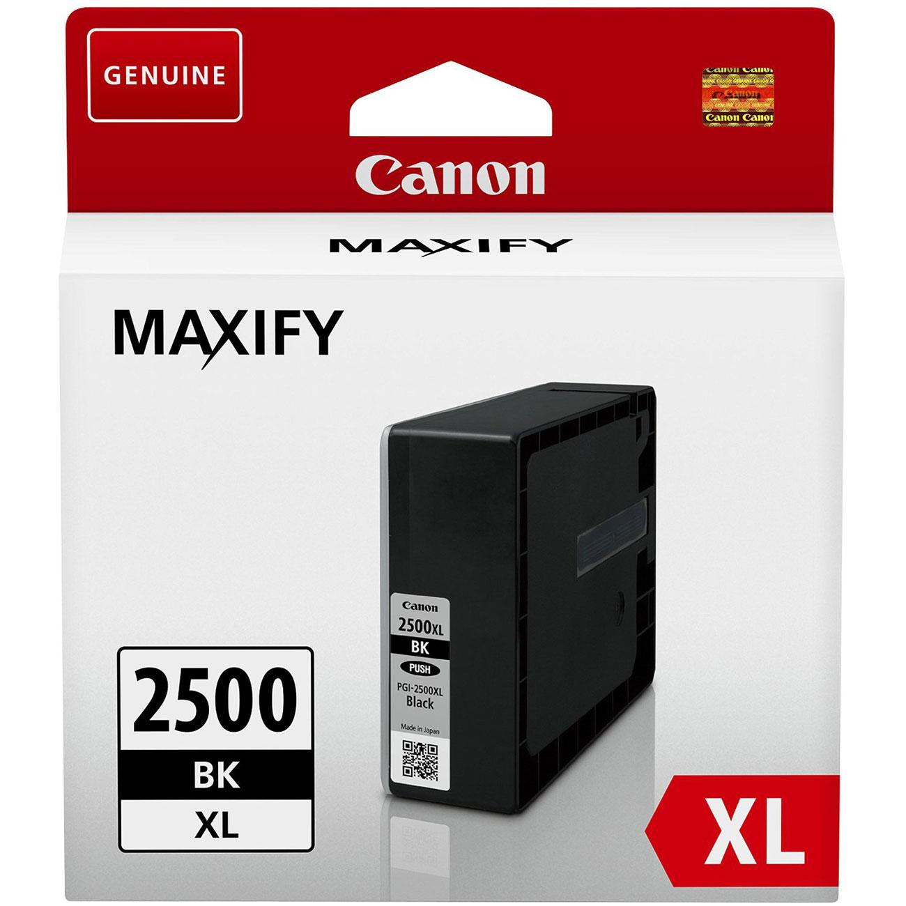 canon pgi 2500xl bk cartouche imprimante canon sur. Black Bedroom Furniture Sets. Home Design Ideas