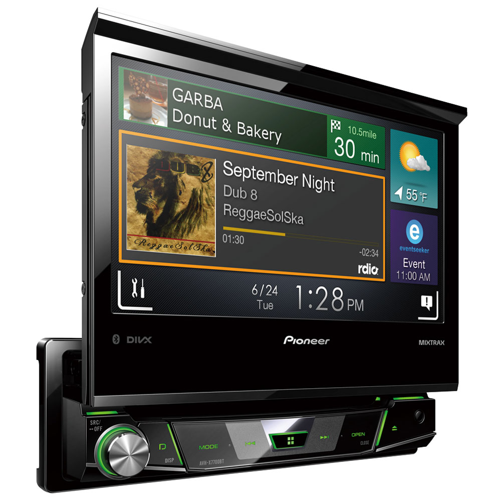 pioneer avh x7700bt autoradio pioneer sur. Black Bedroom Furniture Sets. Home Design Ideas