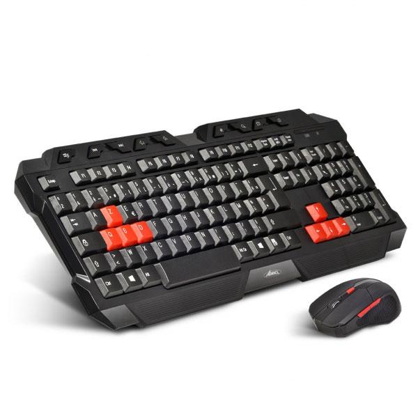 advance gaming wireless combo pack clavier souris advance sur. Black Bedroom Furniture Sets. Home Design Ideas