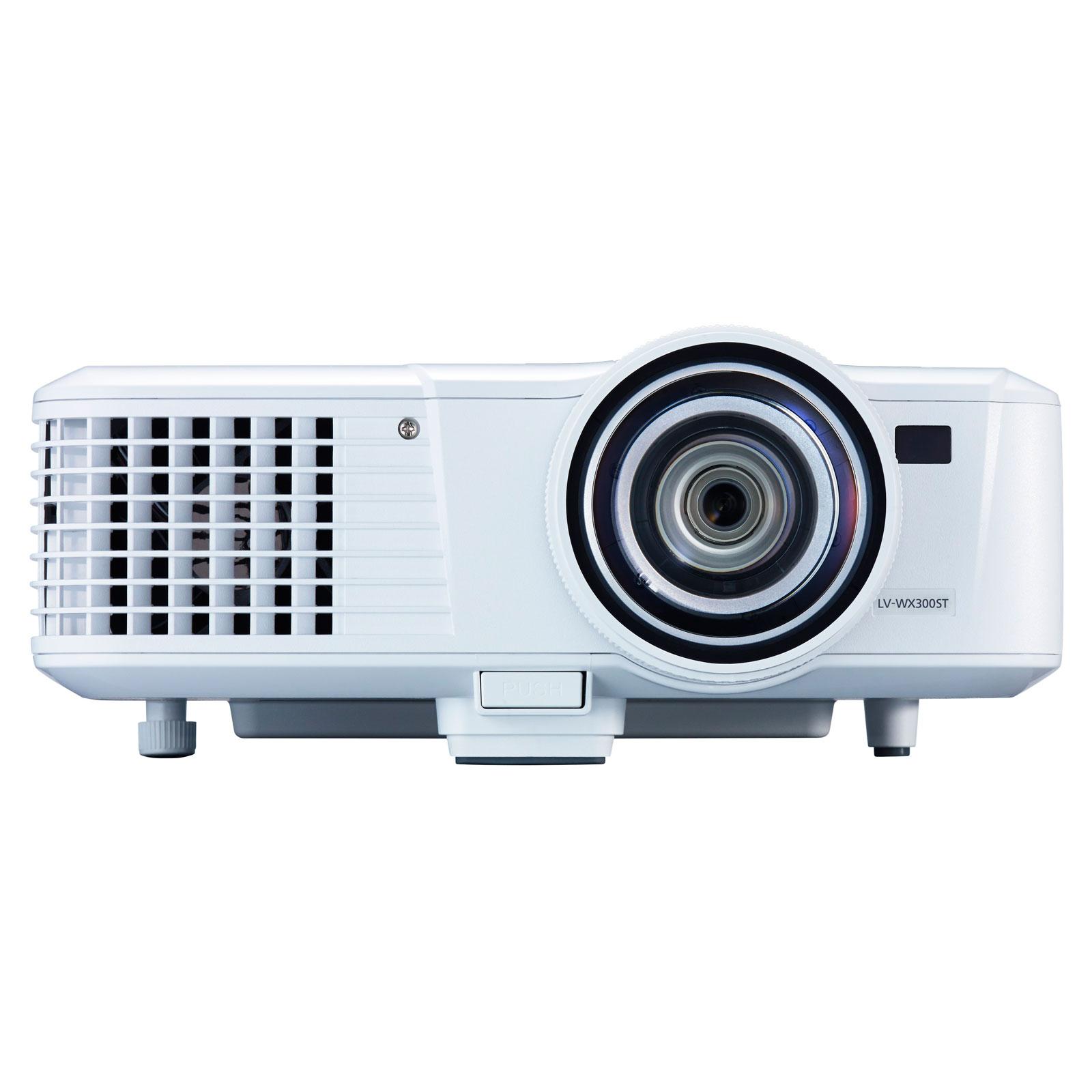 Vidéoprojecteur Canon LV-WX300ST Vidéoprojecteur DLP WXGA 3000 Lumens HDMI focale courte (garantie constructeur 3 ans)