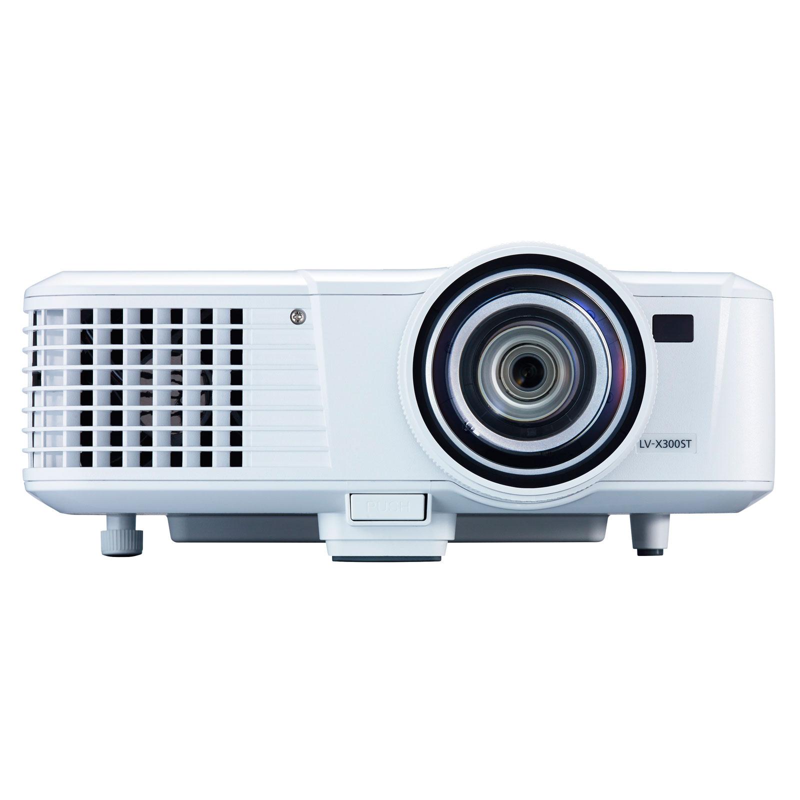 Vidéoprojecteur Canon LV-X300ST Vidéoprojecteur DLP XGA 3000 Lumens HDMI Focale courte (garantie constructeur 3 ans)
