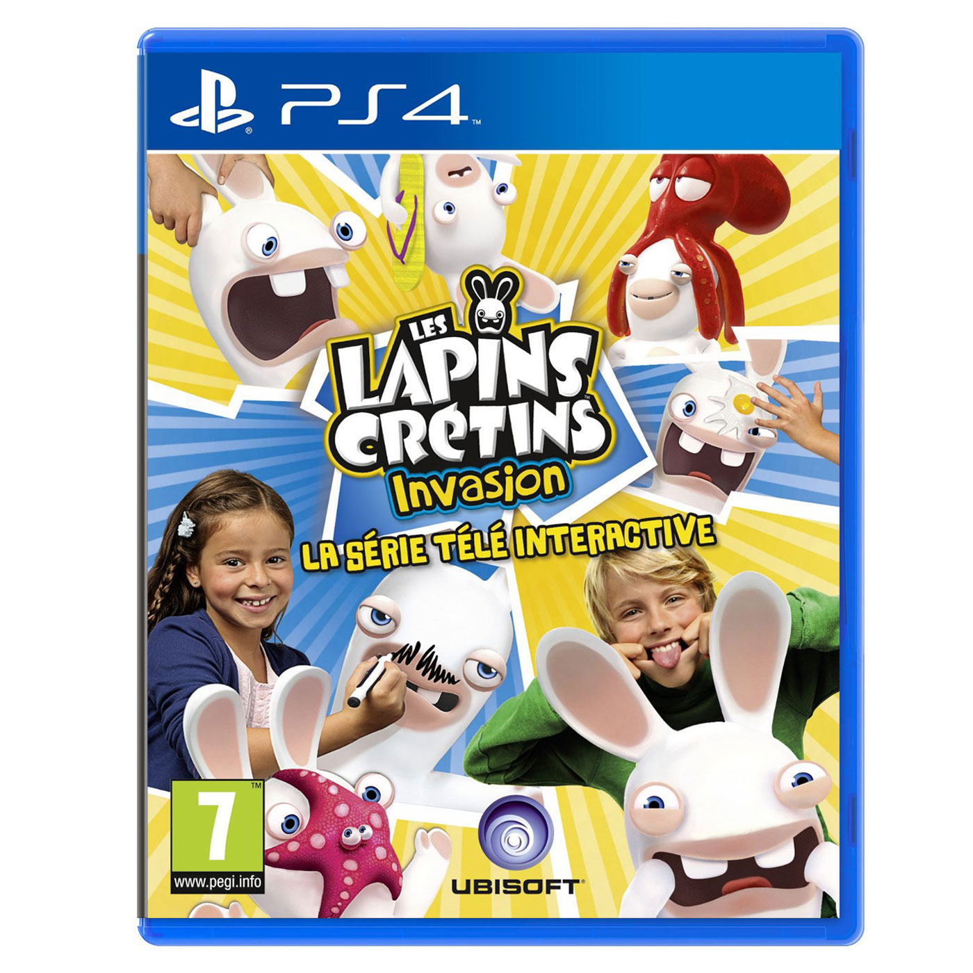 lapins cr tins invasion la s rie t l interactive ps4 jeux ps4 ubisoft sur. Black Bedroom Furniture Sets. Home Design Ideas
