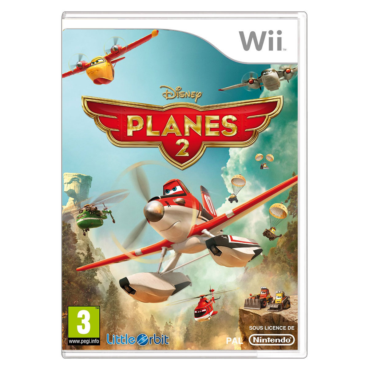 LDLC.com Planes 2 (Wii)  Planes 2 (Wii)