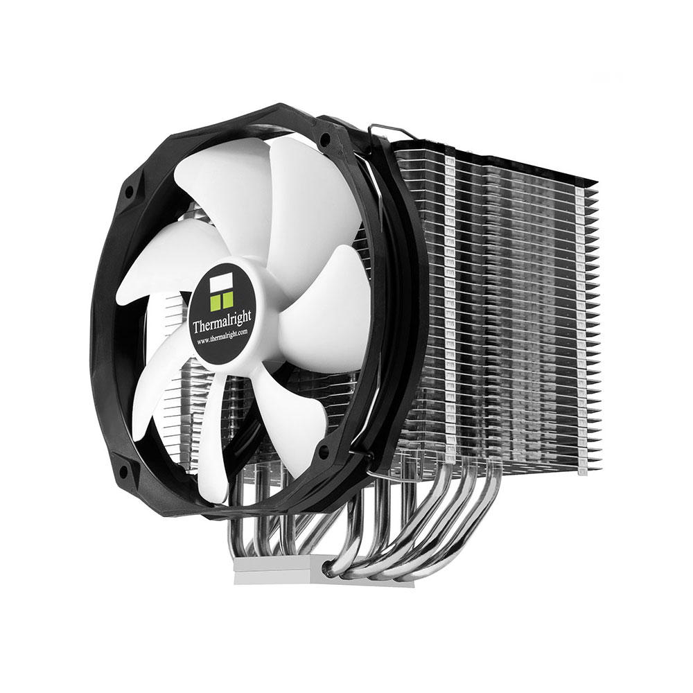Ventilateur processeur Thermalright HR-02 Macho Rev. B Ventilateur pour processeur (pour socket Intel 775 / 1366 / 1150 / 1155 / 1156 / 2011 / 2011-3 / 2066 et AMD AM2 / AM2+ / AM3 / FM2  / FM1 / FM2)