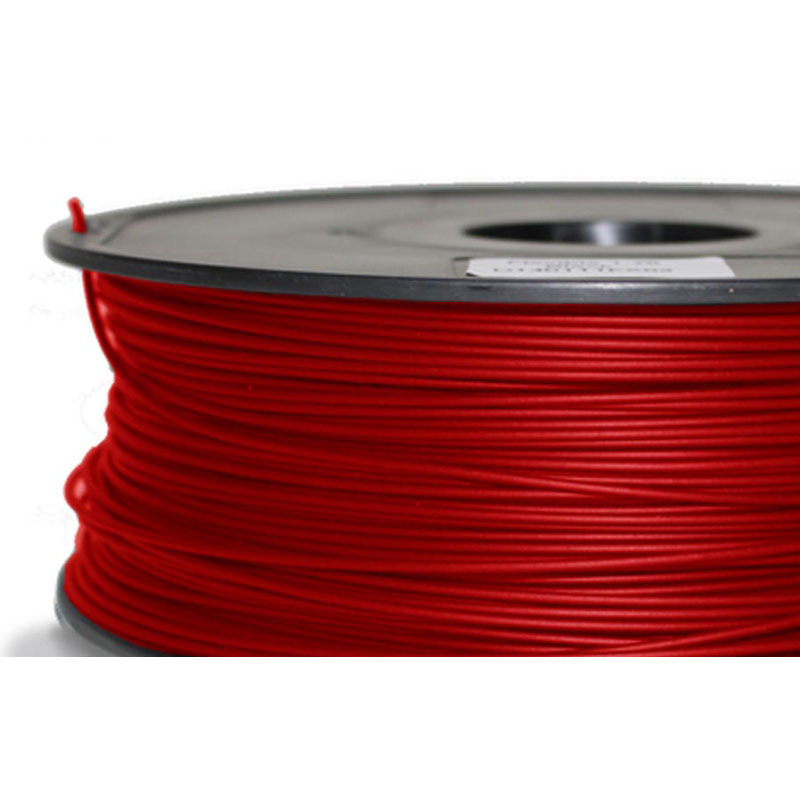Filament abs 1kg pour imprimante 3d rouge flexible - Filament imprimante 3d ...