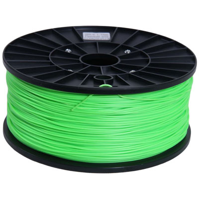 makerbot bobine abs 1kg pour imprimante 3d vert fluo cartouche imprimante makerbot sur. Black Bedroom Furniture Sets. Home Design Ideas
