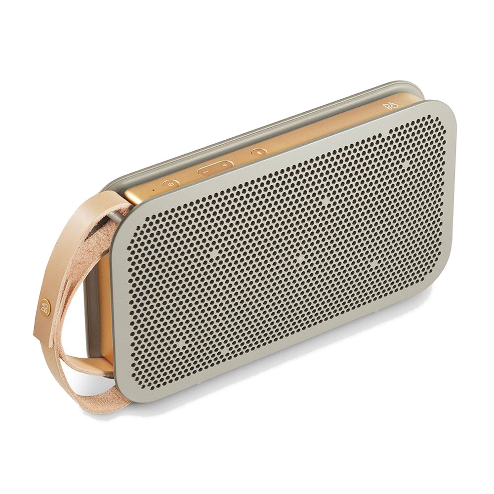 bang olufsen beoplay a2 champagne dock enceinte bluetooth bang olufsen sur. Black Bedroom Furniture Sets. Home Design Ideas