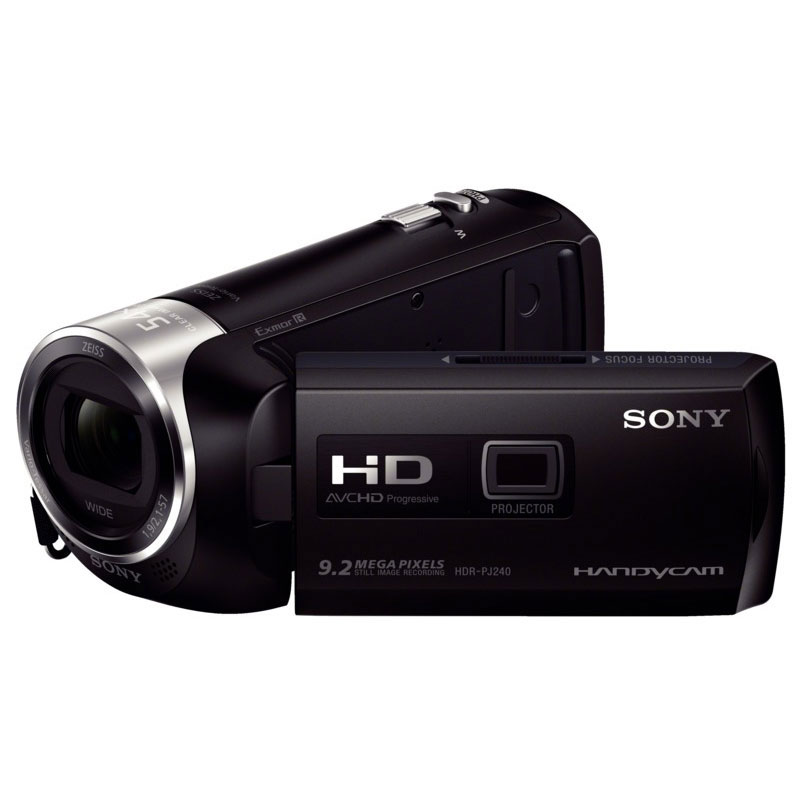 sony hdr pj240eb cam scope num rique sony sur. Black Bedroom Furniture Sets. Home Design Ideas