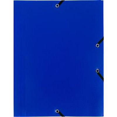 Chemise 224 233 Lastiques 3 Rabats En Polypropyl 232 Ne Bleu