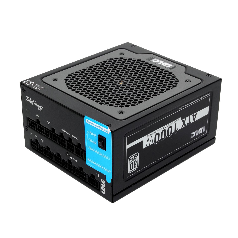 Alimentation PC LDLC XT-1000P 80PLUS Platinum (Garantie 5 ans) Alimentation modulaire 1000W ATX 12V - 80PLUS Platinum