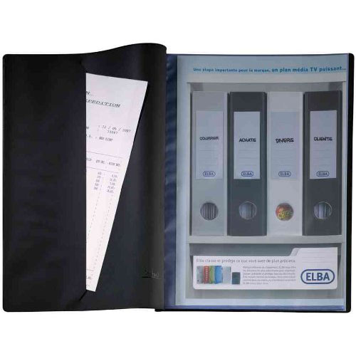 Elba prot ge documents lutin a4 100 vues 50 pochettes for Protege document 60 vues