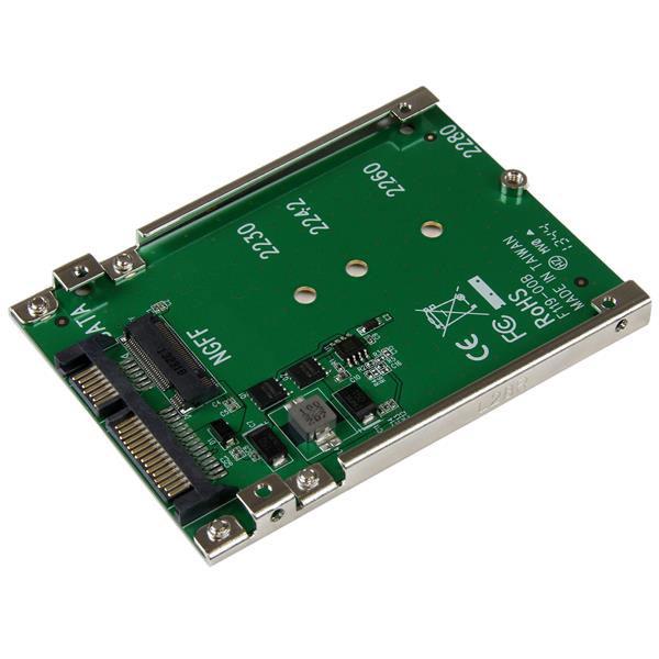 "Serial ATA Adaptateur M.2 NGFF vers SATA 2,5"" Adaptateur M.2 SATA vers SATA 2.5"" (compatible M.2 2230/2242/2260/2280)"